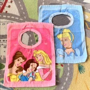 Other - Disney Princess Baby/Toddler Feeding Bibs
